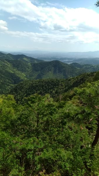 金比羅山クライミング