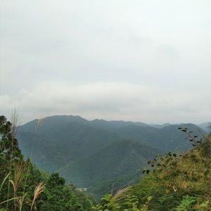 広域林道からの眺め
