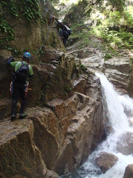 比良・八池谷(八淵の滝)沢登り例会