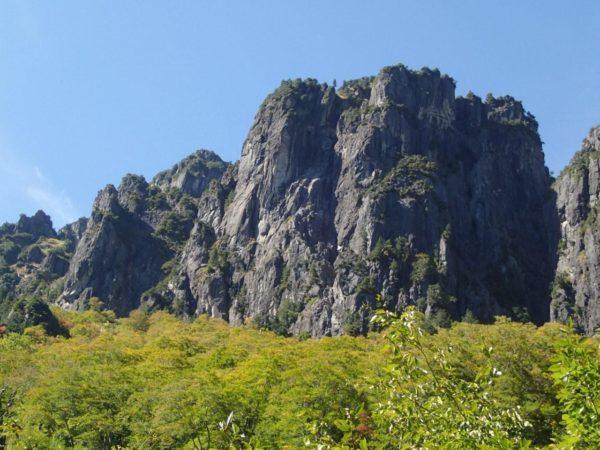 錫杖岳左方カンテ