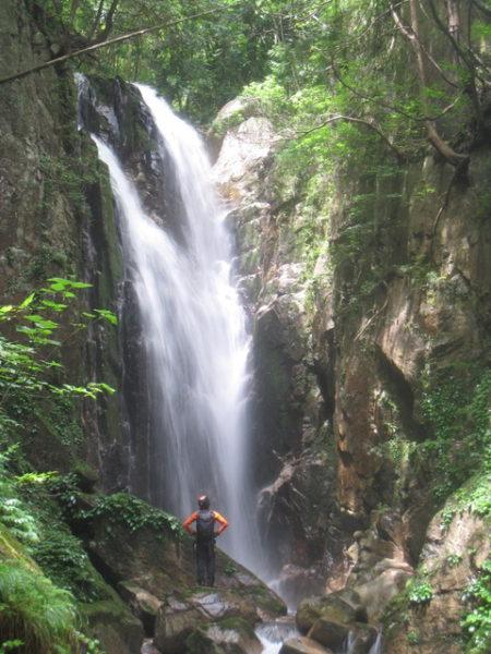 八つ淵の滝沢登り